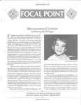 Focal Point, Volume 04 Number 02 by Portland State University. Regional Research Institute