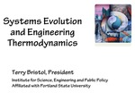 Systems Philosophy and Engineering Thermodynamics by Terry Bristol