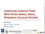 Computing Complex Tasks with Dynamical Cellular Systems by Neil Babson