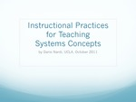 Instructional Practices for Teaching Systems Concepts