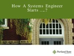 How a Systems Engineer Starts... by Herman Migliore