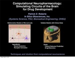 Computational Pharmacology: Simulating Circuits of the Brain for Drug Development by Patrick D. Roberts