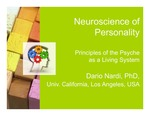 Neuroscience of Personality: Principles of the Psyche as a Living System