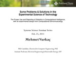 Some Problems and Solutions in the Experimental Science of Technology: The Proper Use and Reporting of Statistics in Computational Intelligence, with an Experimental Design from Computational Ethnomusicology