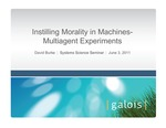 Evolving Machine Morality Strategies through Multiagent Simulations