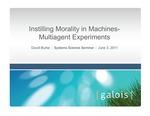 Evolving Machine Morality Strategies through Multiagent Simulations by David Burke