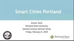 Smart Cities Initiatives in the Portland Region