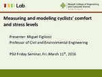 Measuring and Modeling Cyclists' Comfort and Stress Levels