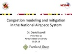 Congestion Modeling and Mitigation in the National Airspace System