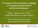 The Theory of Travel Decision-Making: A Conceptual Framework of Active Travel Behavior