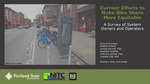 Current Efforts to Make Bike Share More Equitable: A Survey of System Owners and Operators
