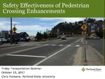 Safety Effectiveness of Pedestrian Crossing Treatments