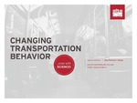 Transportation Behavior Change...Now With SCIENCE! by Jessica Roberts
