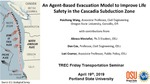 An Agent-Based Evacuation Model to Improve Safety in the Cascadia Subduction Zone