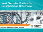 Next Steps for Portland's Neighborhood Greenways by Scott Cohen