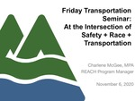 At the Intersection of Safety + Race + Transportation by Charlene McGee