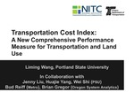 Webinar: Transport Cost Index: A New Comprehensive Performance Measure for Transportation and Land Use