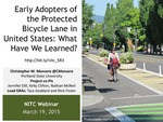 Webinar: A Comprehensive Evaluation of Protected Cycling Facilities: Lessons from Five Cities