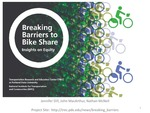 Webinar: Breaking Barriers to Bike Share: Insights on Equity
