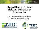Webinar: Racial Bias in Driver Yielding Behavior at Crosswalks