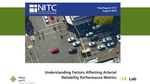 Webinar: Evaluating Urban Arterial Reliability Performance Metrics