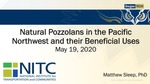 Webinar: Natural Pozzolans in the Pacific Northwest and their Beneficial Uses by Matthew D. Sleep