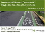 Webinar: Economic and Business Outcomes of Bicycle and Pedestrian Improvements by Jenny H. Liu