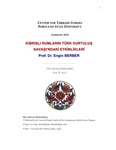 Kibrisli Rumlarin Turk Kurtulus Savasi'ndaki Etkinlikleri (Greek Cypriots Turkish Liberation Events in War) by Engin Berber