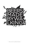 Beers Made By Walking Menu by Eric Steen