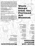 Work Songs from the Portland Art Museum